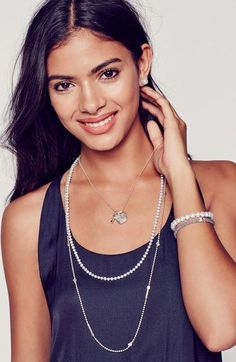 'Beloved' Heart Lock & Key Pendant Necklace