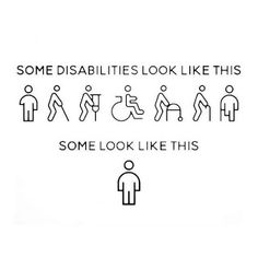 pictame webstagram You can't always see a persons disability. Chronic Illness Humor, Chronic Illness Quotes, Chronic Migraines, Crohns Disease Quotes, Rheumatoid Arthritis, Diabetes Quotes, Type One Diabetes, Myasthenia Gravis, Ulcerative Colitis