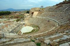 Went to Turkey a few years back. Walked barefoot in Ephesus, where the Apostle Paul walked. This is the theater when Paul caused such an uproar in Act:19.