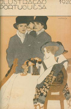 1920 - Ilustração Portuguesa cover by Antonio (Soares?)