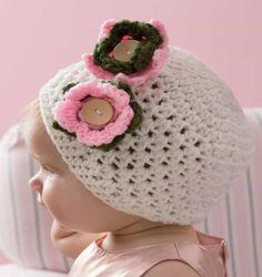 Háčkování Baby Hat Zdarma Pattern