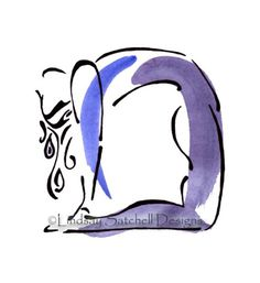 yoga art print Camel Pose by LindsaySatchell on Etsy, $20.00