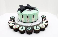 paris themed cakes | Paris theme cake - by Cynthia Jones @ CakesDecor.com - cake decorating ...