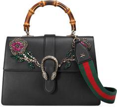 ae047e725650 Dionysus large leather top handle bag #fashion #pandafashion #satchel #gucci  Gucci Shoulder