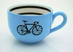 Bicycle Mug large for Soup or Coffee and Bike Lovers Blue Pimp Your Bike, Bicycle Art, Bicycle Design, Bicycle Decor, Cute Mugs, My Ride, Bike Life, Road Bike, Road Cycling