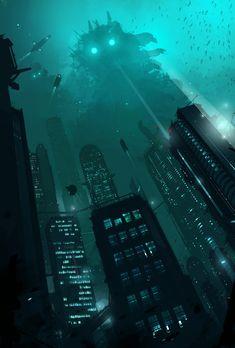 'Aquapolis' by ~sketchboook