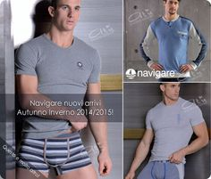 Intimo uomo con Completi intimi maschili, boxer uomo. Navigare, primal, Enrico coveri. http://www.atyintimoonline.it/69-coordinati-moda-intimo-uomo