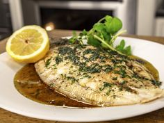 Lemon sole is a flat fish that isn't a sole and doesn't taste of lemon! It has a light, delicate flavour and is great when simply baked. Lemon Sole Recipes, Fish Recipes, Great Recipes, Chef James Martin, Frozen Live, Flat Fish, Recipe For 1, I Chef