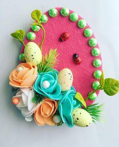 Easy Easter Crafts, Christmas Crafts For Kids, Christmas Ornaments, Wood Crafts, Diy And Crafts, Paper Crafts, Dessert Decoration, Art N Craft, Spring Crafts