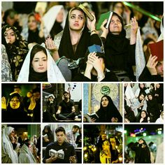 [Night of Decree observed across Tehran]  Ceremonies was held across Tehran to commemorate Laylat al-Qadr or Night of Decree, the first one being the 19th of Ramadan, where Muslims stay awake and worship.          #19Ramadan1438Night