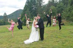 Fun wedding photography ;)