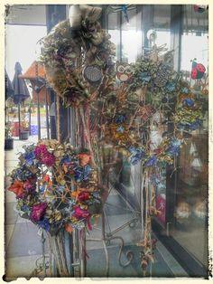 Vintage shabby dream catcher wreath