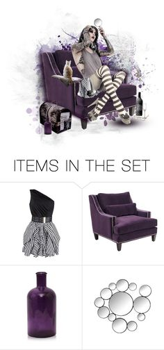 """""""~ Sitting Pretty ~ ( Contest )~ I must do my eyebrows!! ~"""" by lynne2 ❤ liked on Polyvore featuring art, contest, doll and lynne2"""