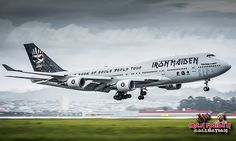 The 15 Best Iron Maiden Air Charter Service Images On Pinterest