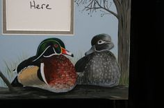 Woodduck picture mat. $25,00, via Etsy.