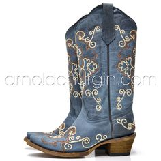 Berrigan for Arnold Churgin Western Boots, Cowboy Boots, Shoe Boots, Shoes, The Struts, Embroidery, Fashion, Moda, Zapatos