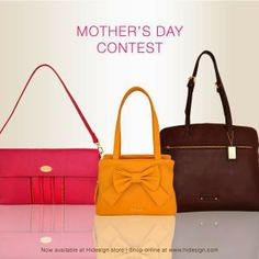 Participate in Hidesign mother day contest and win Hidesign Bag for your Mom  http://gettopdeals.blogspot.in/2014/05/participate-in-hidesign-mother-day.html