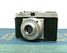 Vintage Wirgin Edina Vario 35mm SLR camera  1950s by EitherOrFinds, $15.00