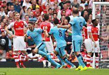 Cuplikan Gol Arsenal 2-1 Manchester City 23 April 2017 ( Piala FA )