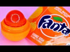 DIY Edible EOS made of FANTA Soda! How to make EOS treats! DIY EOS videos 2016 - YouTube