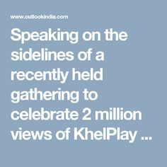 Speaking on the sidelines of a recently held gathering to celebrate 2 million views of KhelPlay Rummy's new Rap Video on YouTube, Operations Head at Sachar Gaming Pvt Ltd, Mr Pradeep Jain, said,