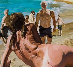Scenes from Late Paradise — Eric Fischl Figure Painting, Painting & Drawing, Painting People, L'art Du Portrait, Portraits, Figurative Kunst, Anatomy For Artists, Arte Pop, Contemporary Paintings