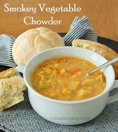 Vegetable, creamy goodness!