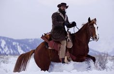 Did you know Jamie Foxx rode his own horse, Tony, in Django Unchained?