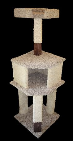 how to make a kitty cat condo