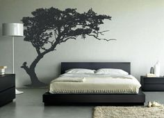 elegant tree wall sticker - Give a touch of creativity to your home with the wall stickers