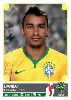214 Danilo Ortiz - Brasil - Copa America Chile 2015 - PANINI