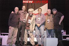 NMS Chicago 2009 Fourth Movement: (L-R) Steve Gerstman (Cutmerch), Dave Lory (NMS, DJL Live Music Productions), Martin Atkins (Tour:Smart, Invisible Records), Martin Folkman (Musician's Atlas/Independent Music Awards), David Cooper (Foxman/Direct to Fan), Joe Carsello (Metro)