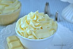 190 ml śmietanki kremówki Fondant, Chocolate Cream, Bon Appetit, Icing, Cake Recipes, Peanut Butter, Cheesecake, Food And Drink, Sweets