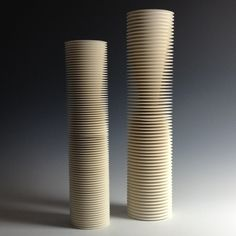 Nicholas Lees: A Pair of Cylindrical Vessels