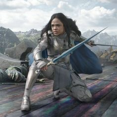 Tessa Thompson, who played the role of Valkyrie in Thor: Ragnarok last year, has reportedly joined the Avengers 4 reshoots. That Valkyrie did not die when Thanos'. Female Avengers, The Avengers, Avengers Movies, Marvel Characters, Marvel Movies, Tessa Thompson, Loki Laufeyson, Marvel Women, Marvel Girls