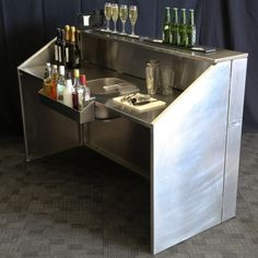 Properly Setup Portable Event Bar - Mobile Bar Hire