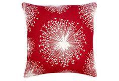 Seed 22x22 Pillow, Scarlet on OneKingsLane.com
