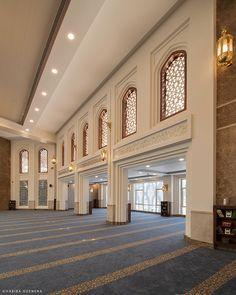 Mosque Architecture, Interior Architecture, Modern Interior Design, Luxury Interior, Classic House Exterior, Beautiful Mosques, Dream House Interior, Balcony Design, Interior Photography