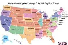 The Most Commonly Spoken Language in Each State Besides English and Spanish | Mental Floss