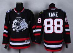 NHL Jersey Chicago Blackhawks #88 kane black Jersey
