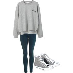 Untitled #187 by thenerdyfairy on Polyvore featuring polyvore, fashion, style, MANGO, Topshop, Converse and clothing