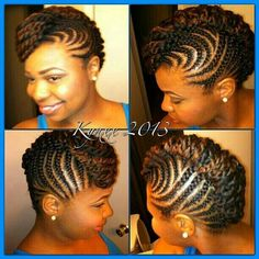 Braids for the summer.