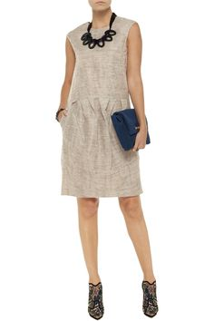 Marni Pleated mohair-blend dress Original price £575.12 Now  £287.56 50% off