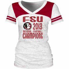 Florida State Seminoles BCS Champions Womens TShirt #seminoles #floridastate #fsu