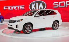 New 2014 White Kia Sorento! The perfect family vehicle #Minivan #KiaSorento