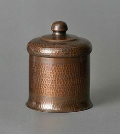 Old Mission Kopper Kraft Hammered Copper Humidor