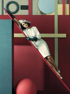Amber Vallettta - Vogue - Steven Meisel