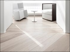 white washed maple floors  LOVE