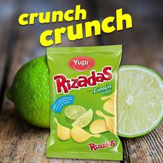 Ese #crunch ácido que nos encanta, #Rizadas Limón.