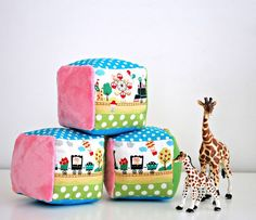 Want this pattern as a free PDF? Click below and I'll email it to you! Get this pattern as a free PDF Whip up a quick and fun gift for your next baby shower with these soft rattle blocks. Each block includes a variety of colors and textures to engage a baby's senses and you...Read More »